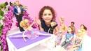 Barbie Sihirli Balerin bale gösterisi var Makyaj yaptıralım