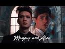 ➰ Magnus and Alec ϟ Ad occhi chiusi