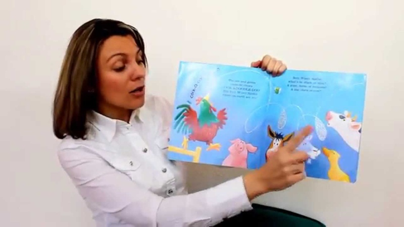 Janine reads INCY WINCY SPIDER by Keith Chapman and sings the nursery rhyme at the end.