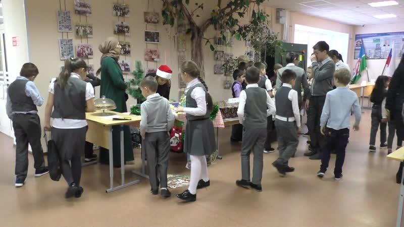 Покачи, 27 ноября 2018 год, школа №1, Ярмарка и Акция Письмо Деду Морозу...