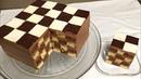 SHAXMAT Torti. Oson usulda / Торт Шахматный с шоколадным кремом и глазурью