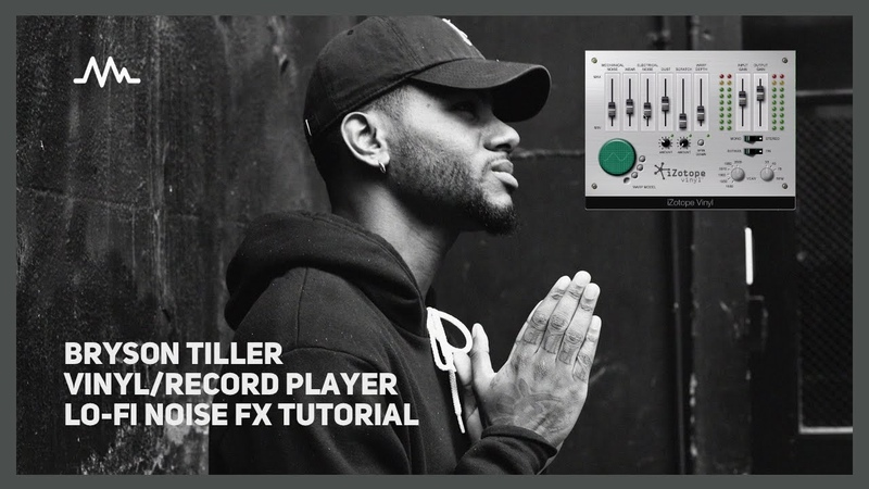 How to: Bryson Tiller lo-fi record player effect (dust, scratches, electrical hum)