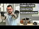 COMO FAZER CONCRETO MARMORIZADO DIY Paulo Biacchi