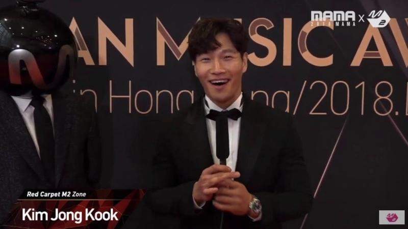 Kim Jong Kook arriving at MAMA Awards in Hong Kong (MAMA 2018)