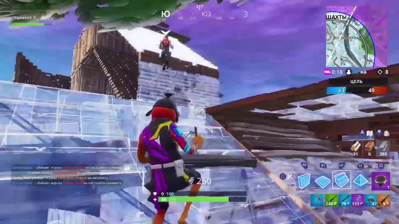 я не застилил он первый по мне стрелять начал