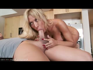 Xander corvus & capri cavanni [ big boobs &  blondes / milkings , boobs , cumshot on chest , riding dick , shaved , on the kitch