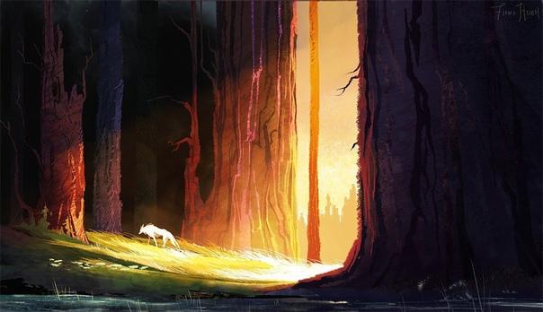 Одиночество Из Старых Сказок Одиночество Из Старых Сказок живёт на самой окраине леса, всего в двадцати минутах от города. Раньше, века два назад, оно бродило на много миль дальше, хозяйничая во