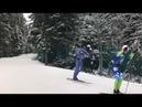 Тренировка лыжников ХМАО-Югры. Часть 1