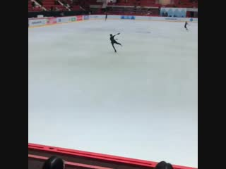 Алина Загитова на тренировке Финляндия ГП.720