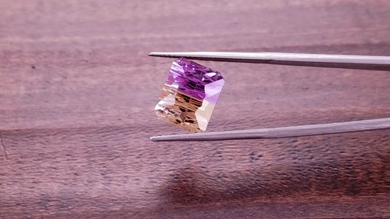 Stunning Bi Color Bolivian Ametrine Gemstone from KGC