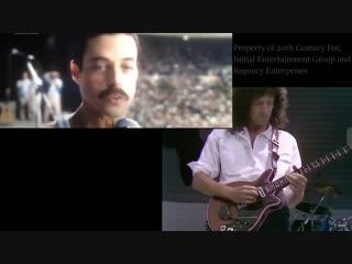 Детальное сравнение оригинального выступления Queen на Live Aid и постановки в фильме Богемская Рапсодия| History Porn