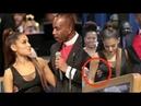 Ariana Grande é assediada por Pastor ao vivo no funeral de Aretha Franklin