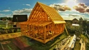 Build a Wooden Frame House From Scratch Time Lapse! Great Woodworking Construction Projects