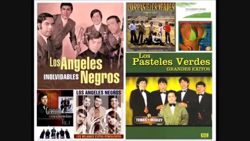 LOS ANGELES NEGROS Y LOS PASTELES VERDES - LARGA DURACION