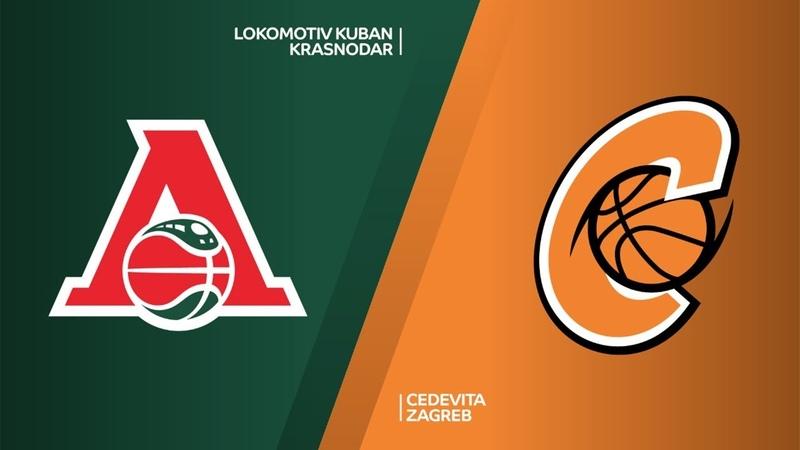 Lokomotiv Kuban Krasnodar - Cedevita Zagreb Highlights | 7DAYS EuroCup, RS Round 9