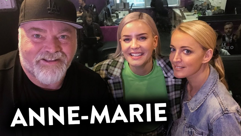 Anne Marie Interview KIIS1065 Kyle Jackie O