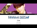 BTS - Trivia 轉 Seesaw SUGA SOLO Legendado PT-BR Color Coded HANPTROM Lyrics by Izzy