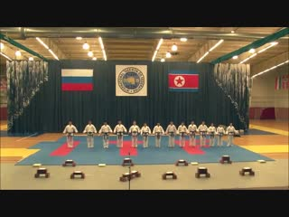 North Korea Taekwon do ITF (Taekwondo techniques).mp4