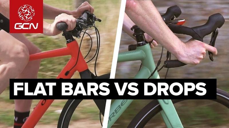 Flat Bar Vs Drop Bar Road Bikes | Comfort, Speed Ease