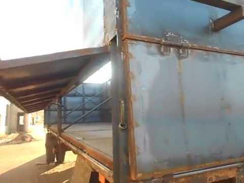 Сварил прицеп зерновоз МАЗ сколько материала ушло