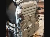 H1 Evo plate carrier (wolf grey)