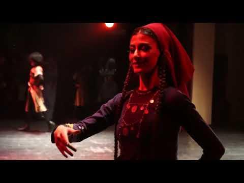 ансамбль Рустави (в Телави) - танец Тушури