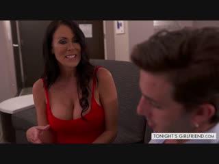 Reagan Foxx – Tonight's Girlfriend [NaughtyAmerica. HD1080, Big Ass, Big Tits, Brunette, MILF, Stockings]