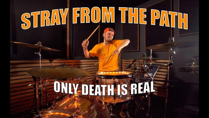 Stray from the path - Only death is real drum cover by Maxim Potapov