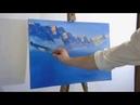 Горное озеро Видео мастер класс по масляной живописи