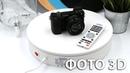 Поворотная платформа для предметной фото и видео съемки ComXim MT320RL60