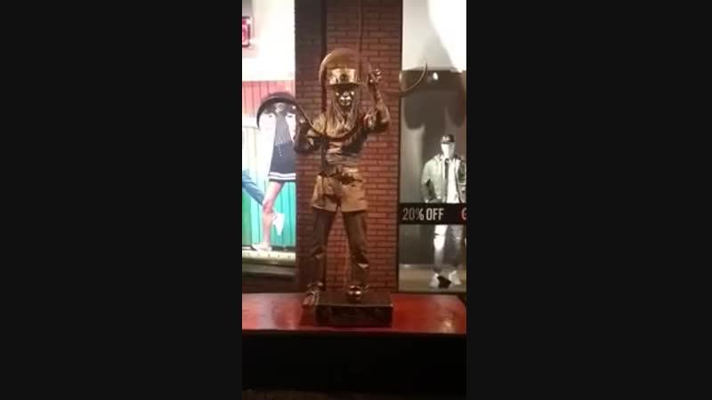 Живая статуя ТАВЕРНА_STEAMPUNK