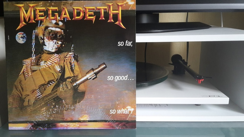 MEGADETH So Far So Good... So What! Side2 Vinyl rip 720p