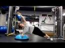 Яна. Функциональная тренировка на подвесных петлях TRX. Растягиваем позвоночник, укрепляем мускулатуру тела.
