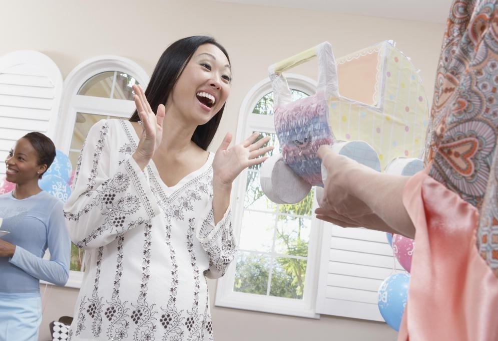 Тема детского душа может быть сосредоточена вокруг пола ребенка.