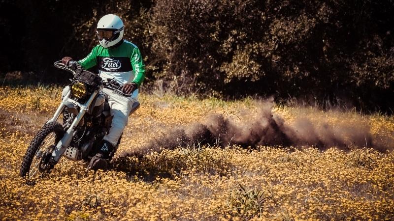 De Angelis Elaborazion: скрэмблер Honda FMX 650