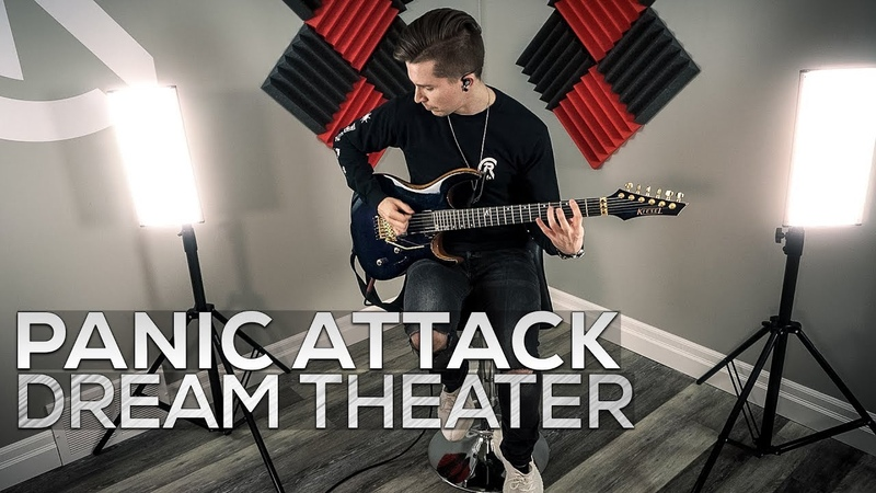 Dream Theater - Panic Attack - Cole Rolland (Guitar Cover)