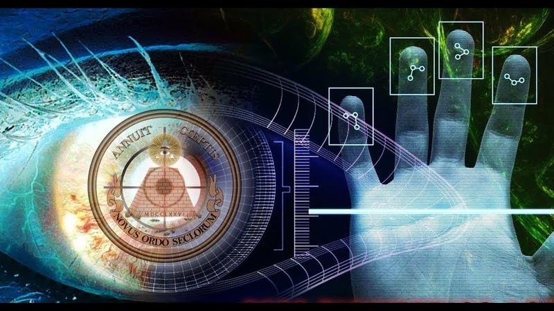 Люди рабы считываемые машиной с меткой зверя на лбу план антихриста в действии.