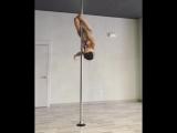 Pole dance Марион Крамп