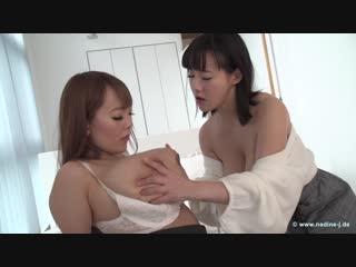 Hitomi (Hitomi Tanaka) & Kaho - After Shopping [Lesbian,Big natural tits,Huge Boobs,Asian]