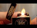 Электродуговая зажигалка слиток золота