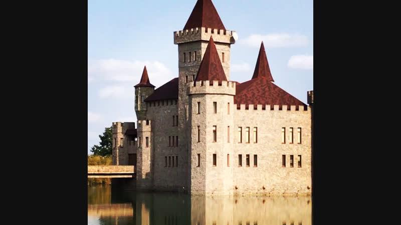Замок Шато Эркен . Красиво безумно.