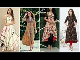 Latest Stylish Designer Collection Of Casual Wear dresses For Girls 2018-2019