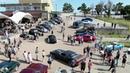 В Крыму устроили фестиваль ретроавтомобилей прямо на горе Ай Петри