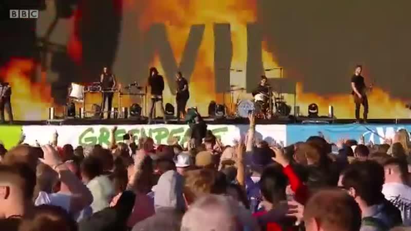 Bring Me the Horizon - Follow You live Glastonbury 2016
