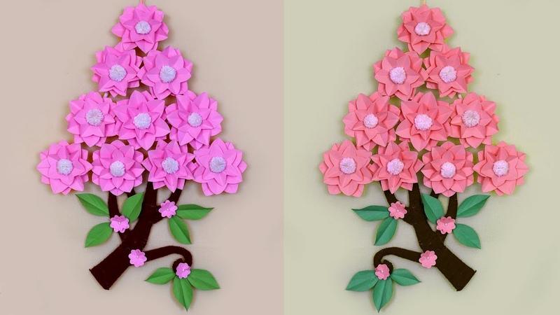 DIY Room Decor Best Paper Craft Wall Hanging Idea | Handmade Craft