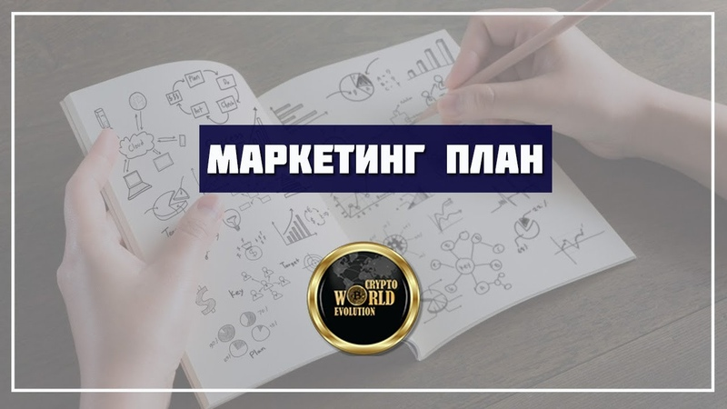 Маркетинг план компании Crypto world evolution