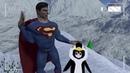 Супермен учит пингвинов летать VRCHAT