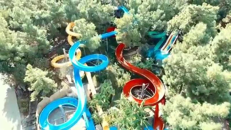 Bodrum park resort aqua park and rooms with phantom 3