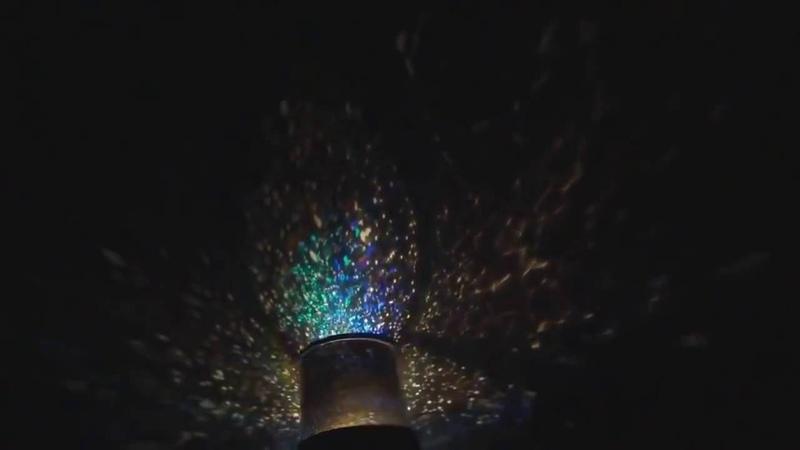 Светильник ночник проектор звёздного неба Star Master