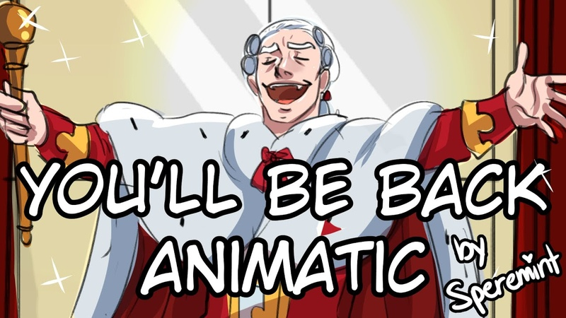 You'll Be Back Hamilton Animatic